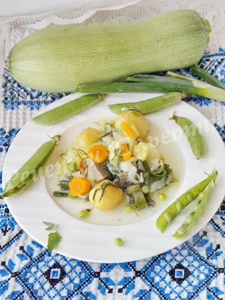 смачне рагу з овочів