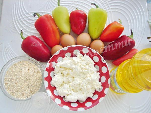 інгредієнти для чушки бюрек