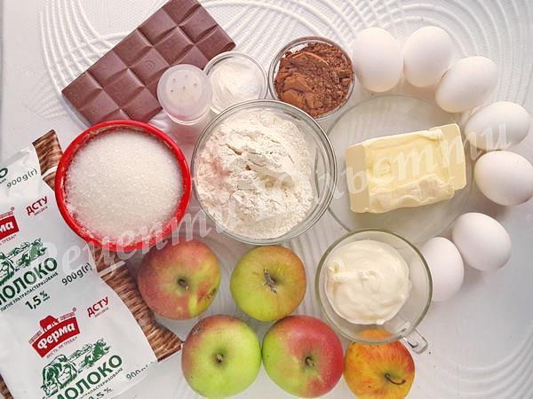 інгредієнти для пирога