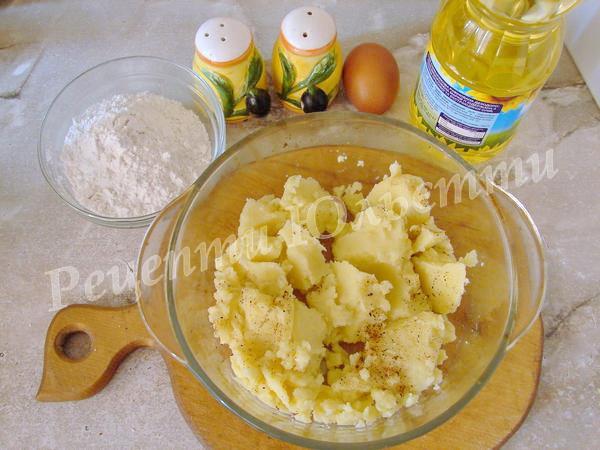 інгредієнти для картопляників