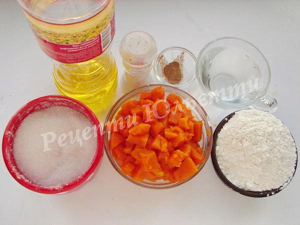 інгредієнти для плацинд