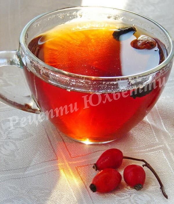 корисний чай із шипшини