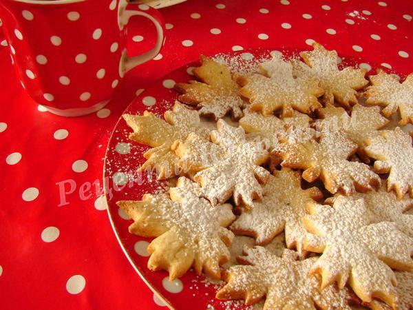 печиво з кленовим сиропом