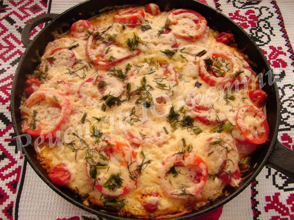 швидка картопляна піца