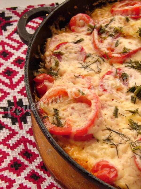 оригінальна картопляна піца