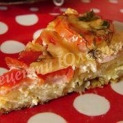 смачна та швидка картопляна піца