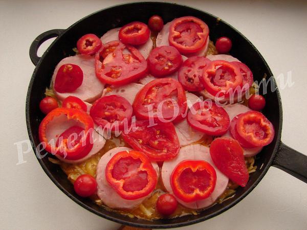 додаємо помідори