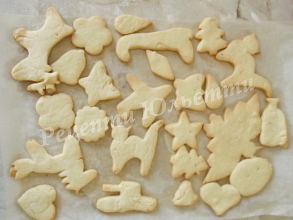 випікаємо біле печиво