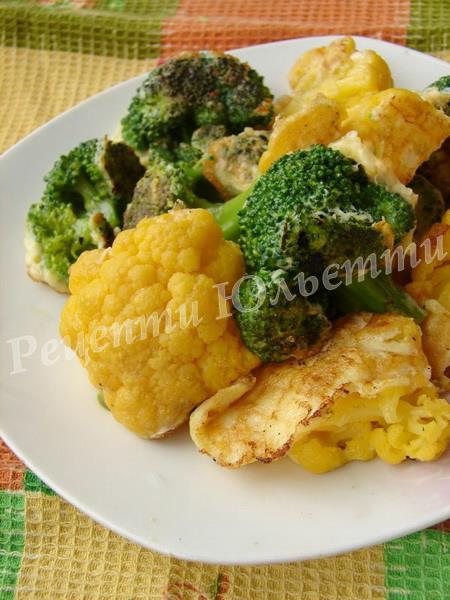 страви з броколі та цвітної капусти