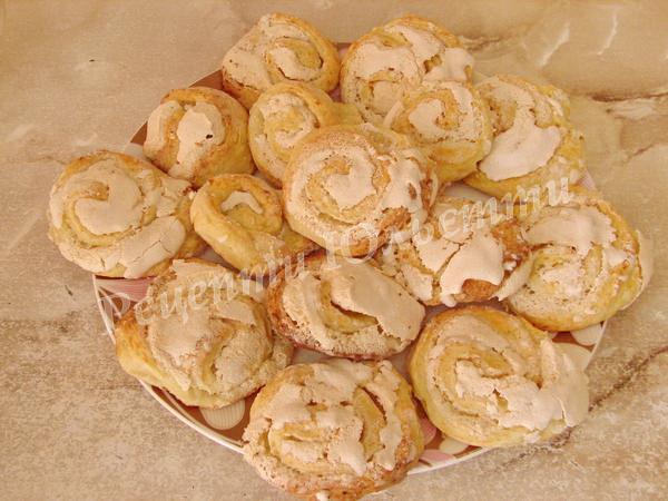домашнє печиво Троянди