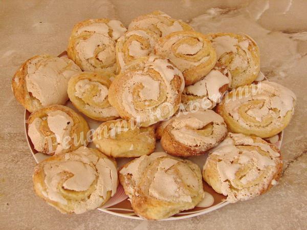 сирне домашнє печиво до чаю Троянди