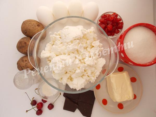 інгредієнти для Львівського сирника