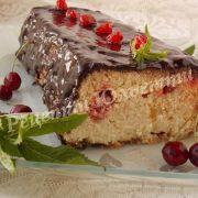 Львівський сирник з в'яленими вишнями