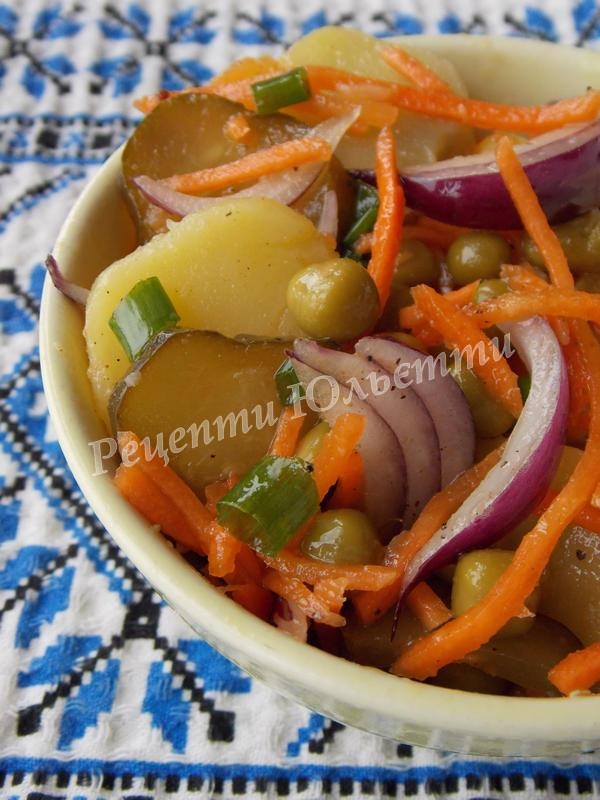 салат із морквою по-корейськи