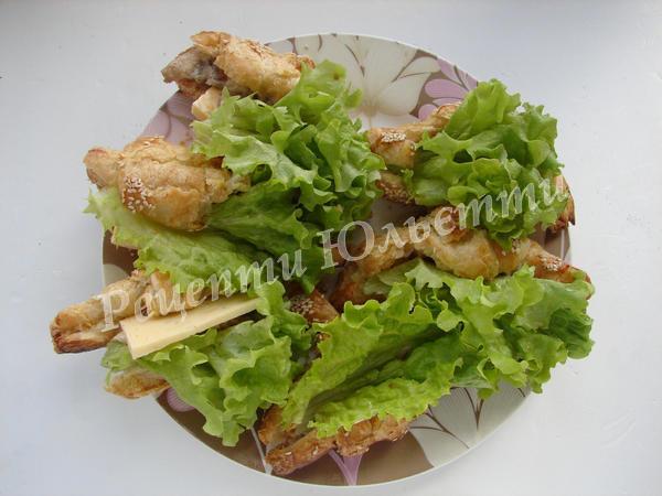 галицькі круасани з смачною начинкою