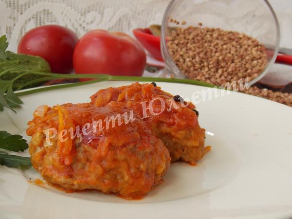гречаники в томаті