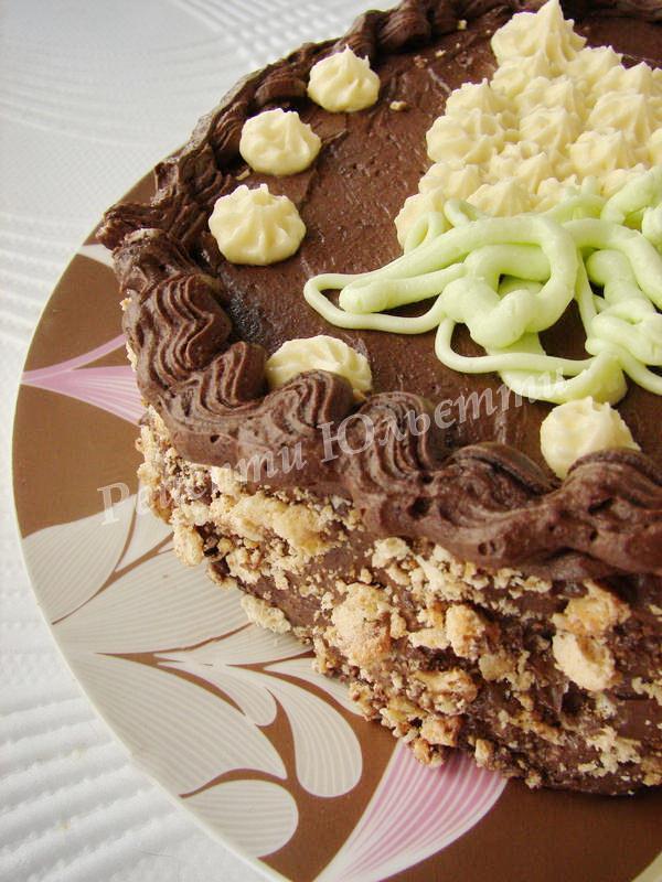 прикрашаємо Київський торт