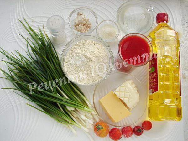 інгредієнти домашньої піци