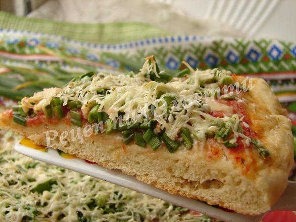 ароматна домашня піца