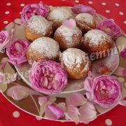 пончики з чайною трояндою