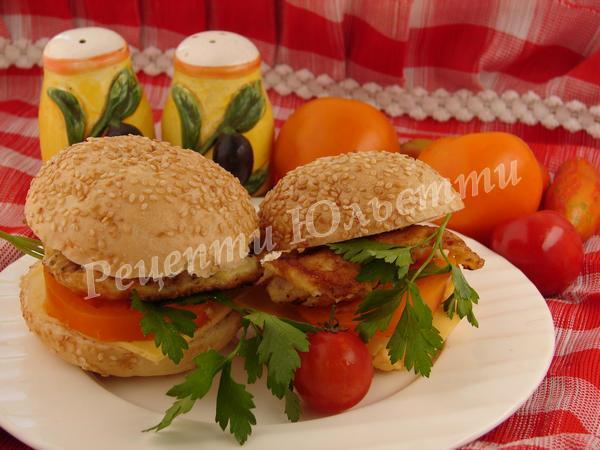 чікенбургери