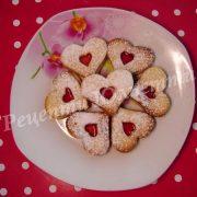 печиво у формі сердець