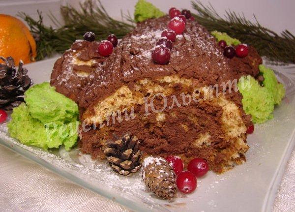 французьке різдвяне поліно