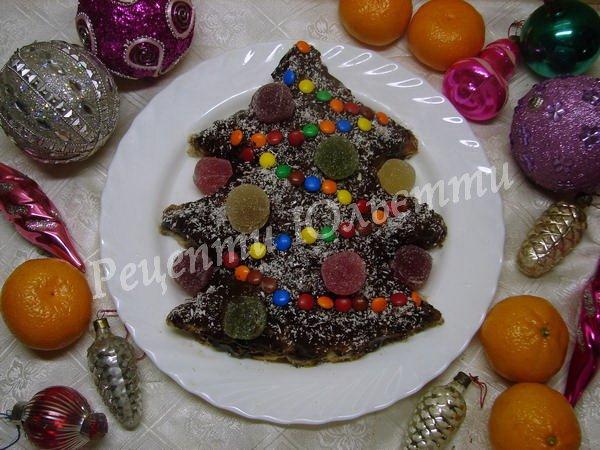 торт ялинка для дітей