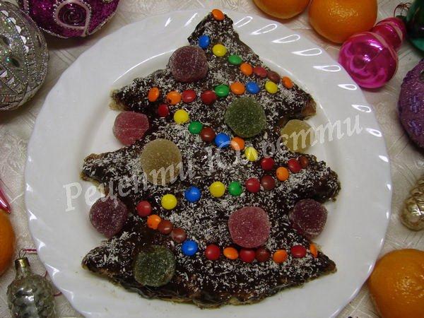 новорічний торт ялинка