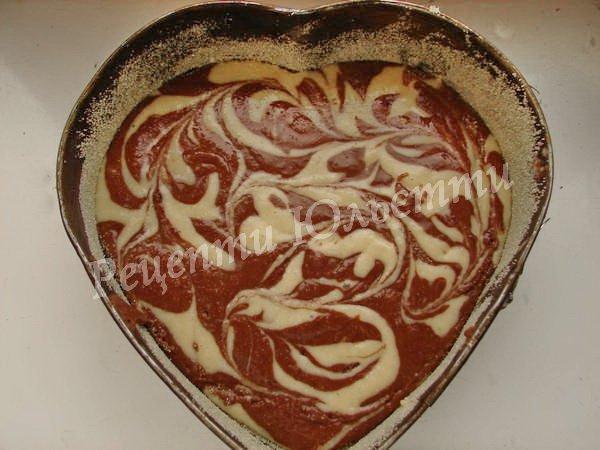 як спекти красивий пиріг
