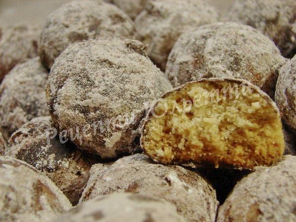 рецепт пісочного печива трюфелі